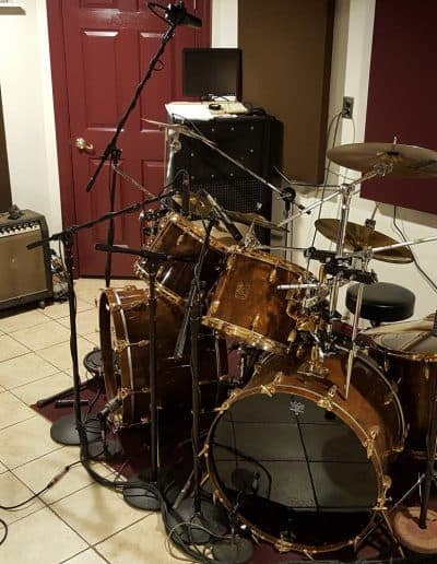 The Gretsch kit